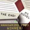 Winner's icon for NaNoWriMo 2003