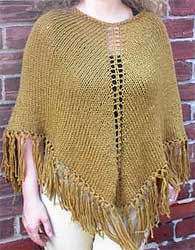 Knitted Ponchos Patterns Patterns Gallery